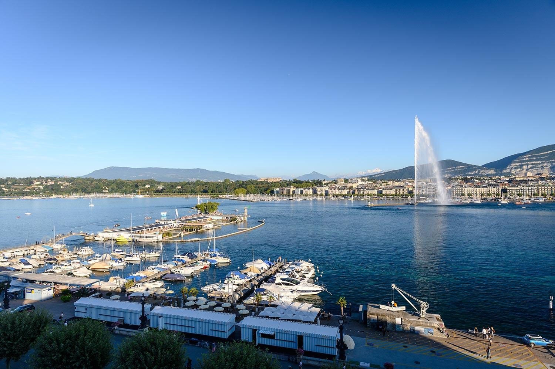 Photo de la ville de Genève