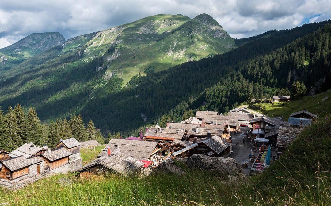 Les Lindarets, le village des chèvres